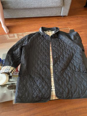 Burberry coat ladies xl fits as a large for Sale in Cary, IL