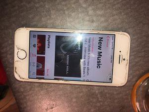 iPhone 5 s unlocked for any carrier for Sale in Salt Lake City, UT