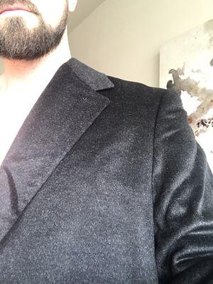 BRAND NEW charcoal Hart Schaffner Marx Men's Spencer Cashmere-Blend Top Coat for Sale in Falls Church, VA
