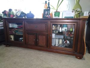 TV Stand/cabinet - Solid Wood for Sale in Warwick, RI