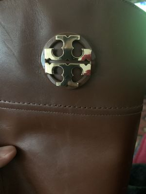 Tory Burch Adeline Riding Boot 20mm Black Leather Size 8 1/2 for Sale in Downey, CA