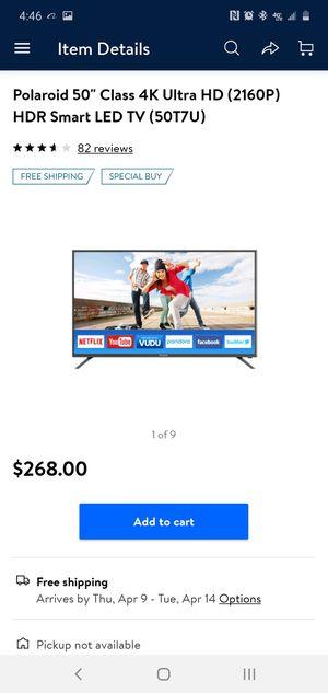 50 inch New In Box 4k for Sale in Highland Springs, VA