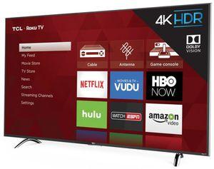 "TCL 55"" CLASS 4-SERIES 4K UHD HDR ROKU SMART TV - 55S423 for Sale in Auburn, WA"