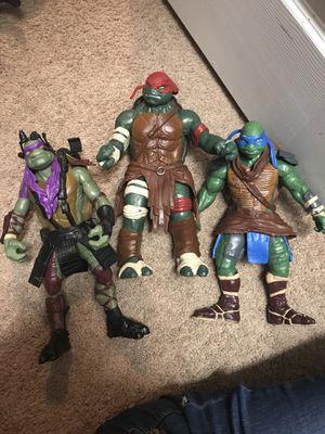 Ninja turtles action figures for Sale in Saint Cloud, FL