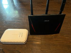 Comcast cable modem and Asus gigabit Wi-Fi router for Sale in Naperville, IL