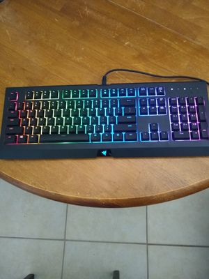 Razer Cynosa Chroma backlit gaming keyboard for Sale in Safety Harbor, FL