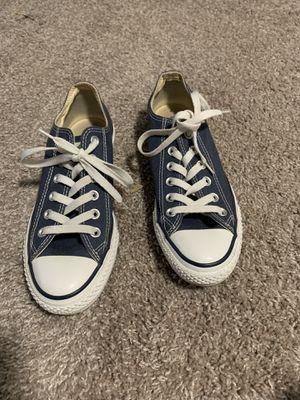 Navy blue Converse / size 5 men / size 7 women for Sale in Aurora, CO