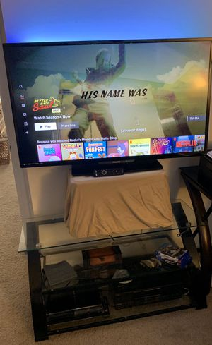 Philips 55 inch smart tv w/stand for Sale in Elgin, IL