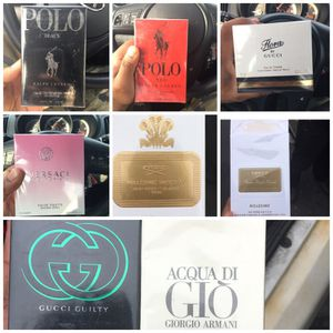 Men's cologne and women's perfume designer for Sale in Cleveland Heights, OH