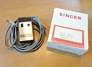 Singer projector remote control cord for Sale in Akron, OH