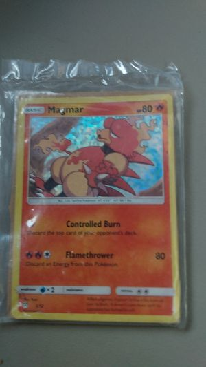 Basic Pokemon card magmar mint condition for Sale in Cleveland, OH