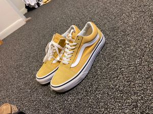 Yellow vans size 5.5 in women for Sale in Carlisle, PA