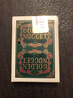 Golden Nugget Playing Cards for Sale in Centreville, VA