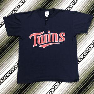 Minnesota Twins Majestic baseball shirt for Sale in Glendale, AZ