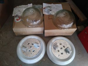 Light fixtures × 2 for 25.00 for Sale in Los Angeles, CA