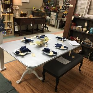 Grey dining table for Sale in Cumming, GA