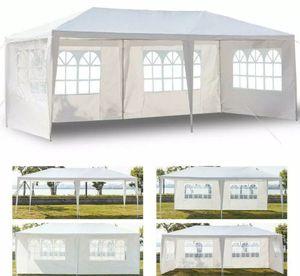 10' x 20' Outdoor Canopy Party Wedding Tent With 6 Walls Gazebo garden BBQ Tent, Carpas para todo tipo de evento. for Sale in Miami, FL