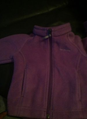 Toddler Girls Columbia zip up sweat shirt for Sale in Salem, MA