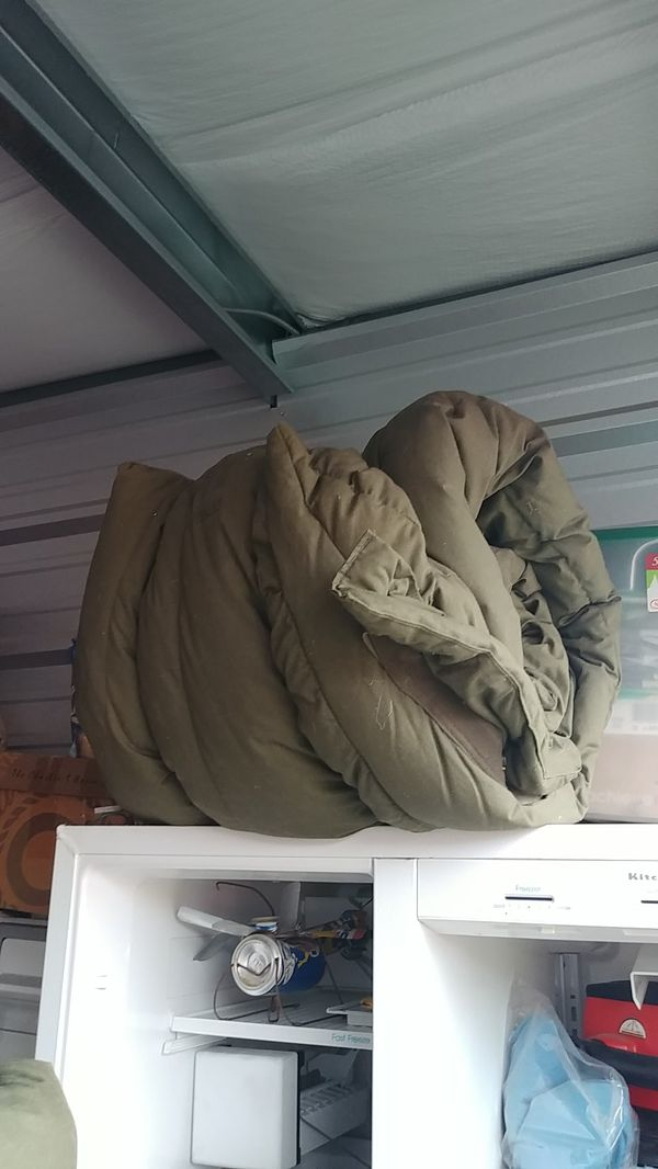 Heavy duty military issued sleeping bags