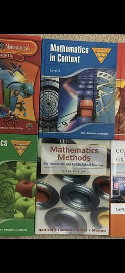 Math Teacher/Teaching Books. for Sale in Norcross,  GA