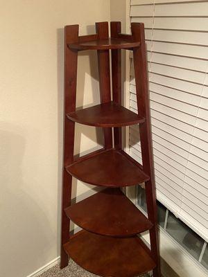 5 tier corner shelf for Sale in Cedar Park, TX