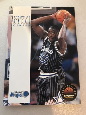 Lot of Shaquille O'Neal cards no low ballers for Sale in Kennewick, WA