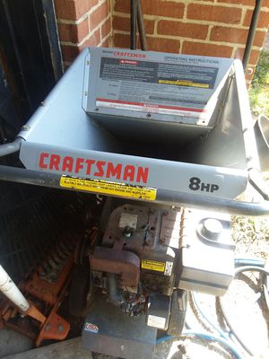 Wood chipper 8hp Craftsman for parts for Sale in Obetz, OH