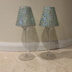 Pair Of Candlestick Holders for Sale in Westbury,  NY