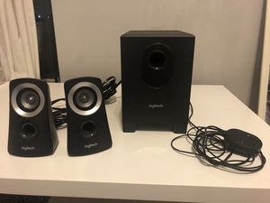 Logitech Z313 Speaker System with Subwoofer for Sale in Edgewater, NJ