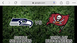 Tampa Vs Seahawks for Sale in Puyallup, WA