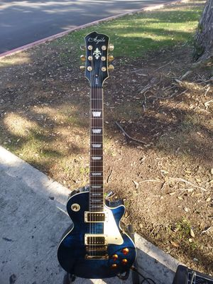"Agile 2500 Les Paul ""Tribal Blue"" 2008 for Sale in San Diego, CA"