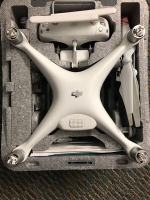 DJI Phantom 4 with 2 extra batteries and drone backpack ($150) for Sale in New York, NY