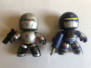Transformers Mighty Muggs Megatron & Soundwave for Sale in Bremerton, WA