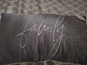 Beautiful gray pillow $12 for Sale in Pomona, CA