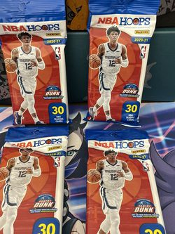 NBA Hoops fat packs 30 cards for Sale in Vancouver,  WA