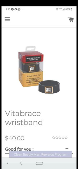 VITABRACE WRISTBAND NEW for Sale in Delray Beach, FL