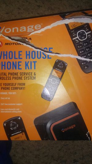 Vonage whole home kit for Sale in Vernon, AZ
