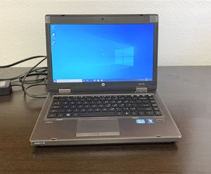 HP ProBook 6460b Laptop i5 2.3G, 4GB, 320GB, Win10 WiFi Notebook (NO BATTERY) AS IS for Sale in Rancho Cucamonga, CA