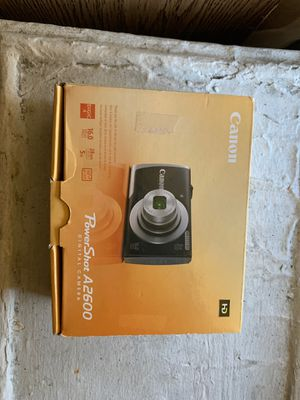Canon power shot A 2600 digital camera for Sale in New York, NY