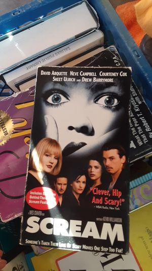Scream movies 1 and 2 for Sale in Sacramento, CA