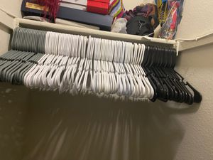 100 hangers for $30 for Sale in Laurel, MD