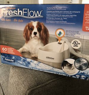 New in box! Pet water fountain 50 oz for Sale in Houston, TX