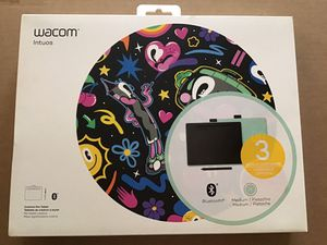 Wacom Intuos Bluetooth Graphics Tablet (Medium, Pistachio) for Sale in Baltimore, MD