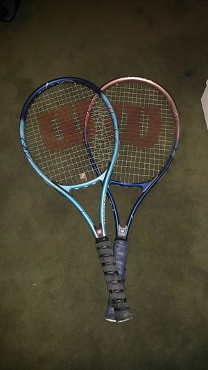 Wilson breast cancer edition women's tennis rackets for Sale in Denver, CO