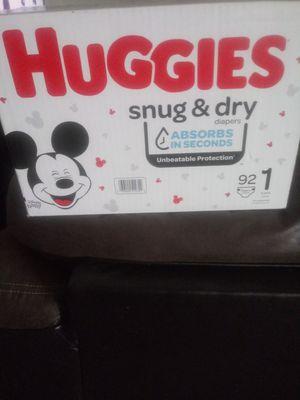 pañales huggies#1 for Sale in Salt Lake City, UT