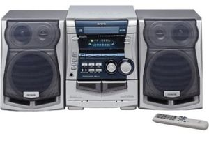 AIWA Stereo System with remote control for Sale in Phoenixville, PA