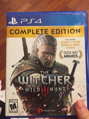 Witcher 3 PS4 for Sale in Portland, OR