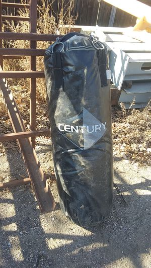 Century punching bag for Sale in Henderson, CO