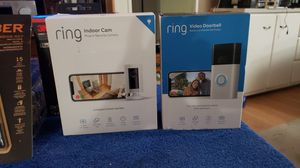 RING Video Doorbell Battery or Hardwired Security Cameras! for Sale in Clearwater, FL