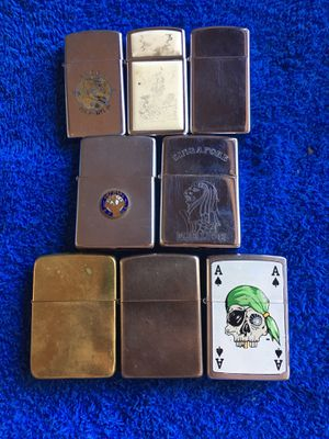 Vintage zippo lighters Ask for a price for Sale in Long Beach, CA
